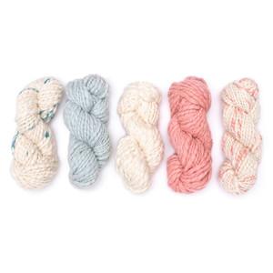 Kinua Flame - 100% Handspun Fine Peruvian Junin Wool Yarn Botanically Dyed 100g Bulky Weight