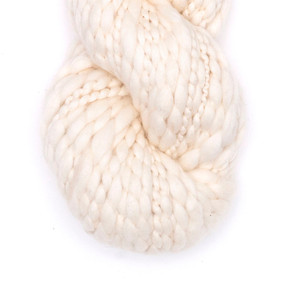 Kinua Flame - Peruvian 100% Organic Cotton Yarn Certified GOTS Undyed Natural Color 100 Grams Bulky Weight