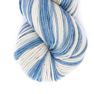 Marbled Blue Denim