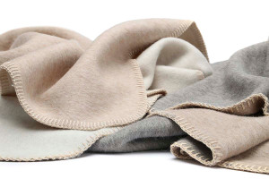 Eco Double Face Alpaca & Cotton Twin Blanket