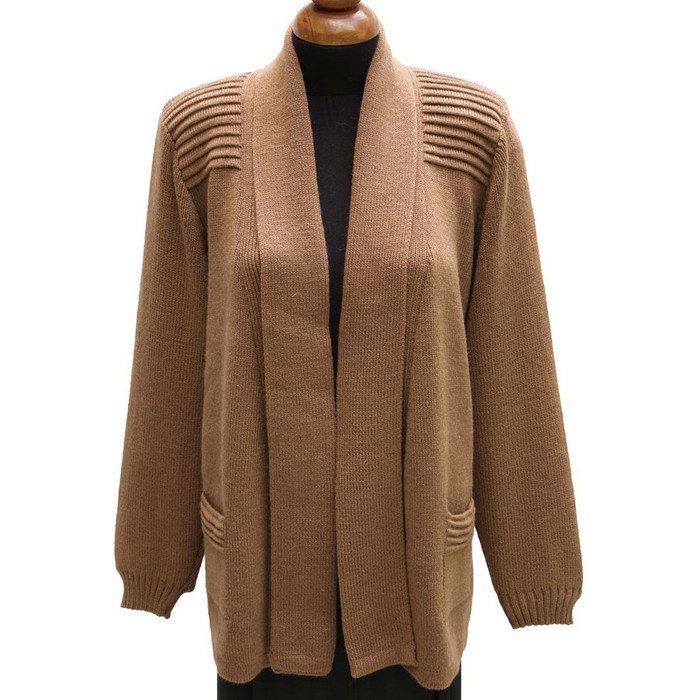 Women's Alpaca Wool Coat Sz XL Camel