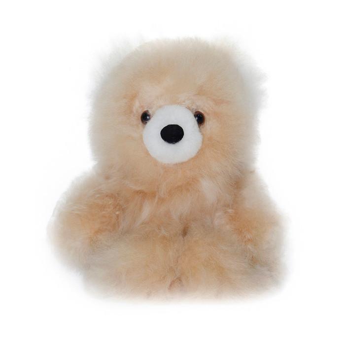 "Superfine 100% Baby Alpaca Fur Stuffed Artist Teddy Bear 10"" (22B-100-022-0001)"