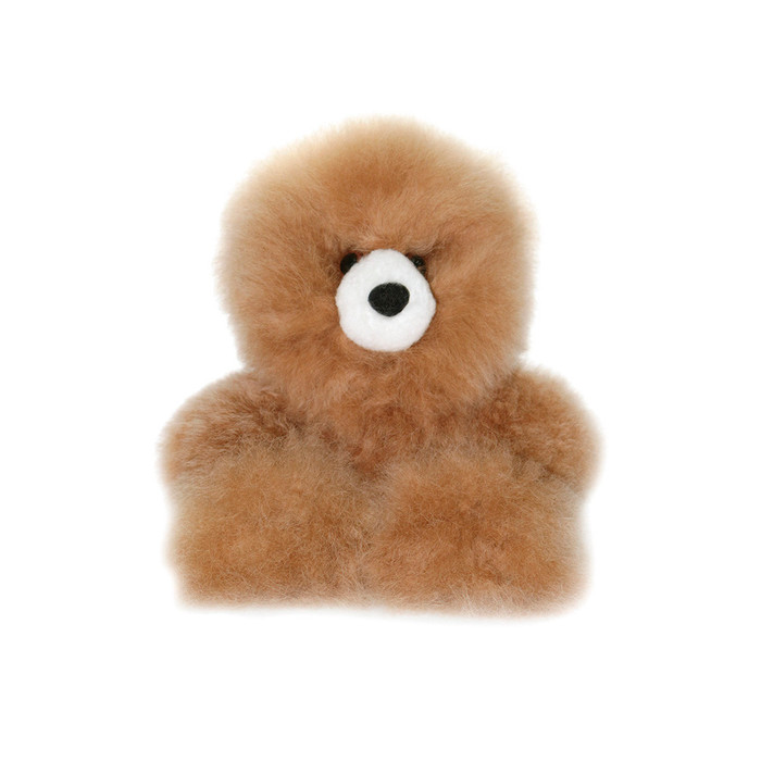 "Superfine 100% Baby Alpaca Fur Stuffed Artist Teddy Bear 10"" (22B-100-022-0002)"