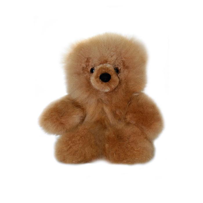 "Superfine 100% Baby Alpaca Fur Stuffed Artist Teddy Bear 10"" (22B-012-022-0003)"