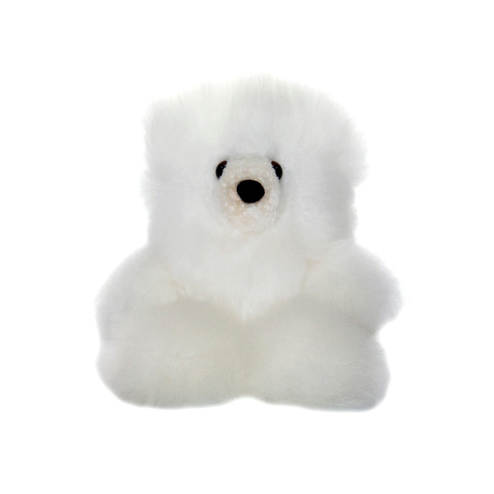 "Superfine 100% Baby Alpaca Fur Stuffed Artist Teddy Bear 10"" (22B-013-022-0004)"