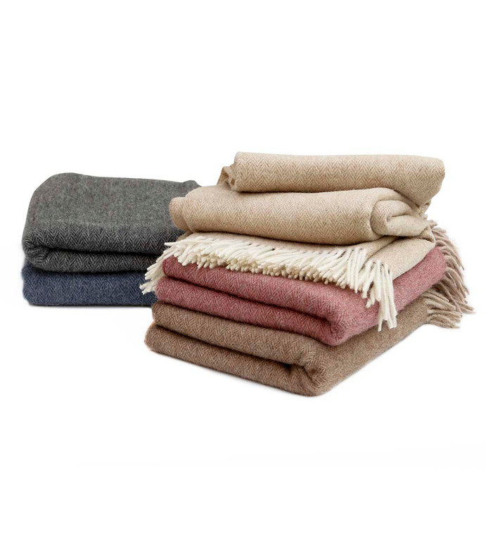 "Alpaca Wool Blanket Throw for Bed Couch Sofa Soft Warm Peruvian Alpaca Wool Blankets 66"" x 54"""