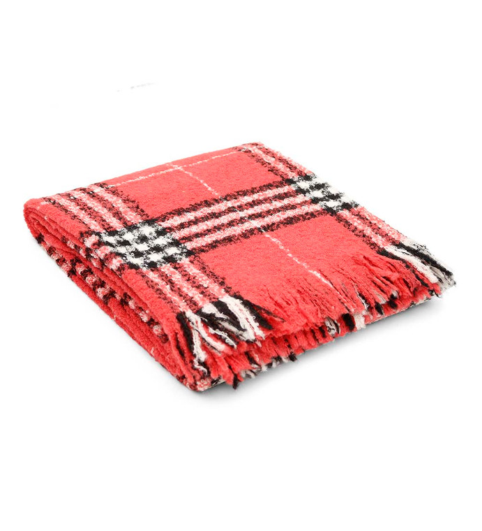 "Alpaca Wool Blanket Throw Scottish Design for Bed Couch Sofa Soft Warm Peruvian Alpaca Wool Blankets 66"" x 52"""