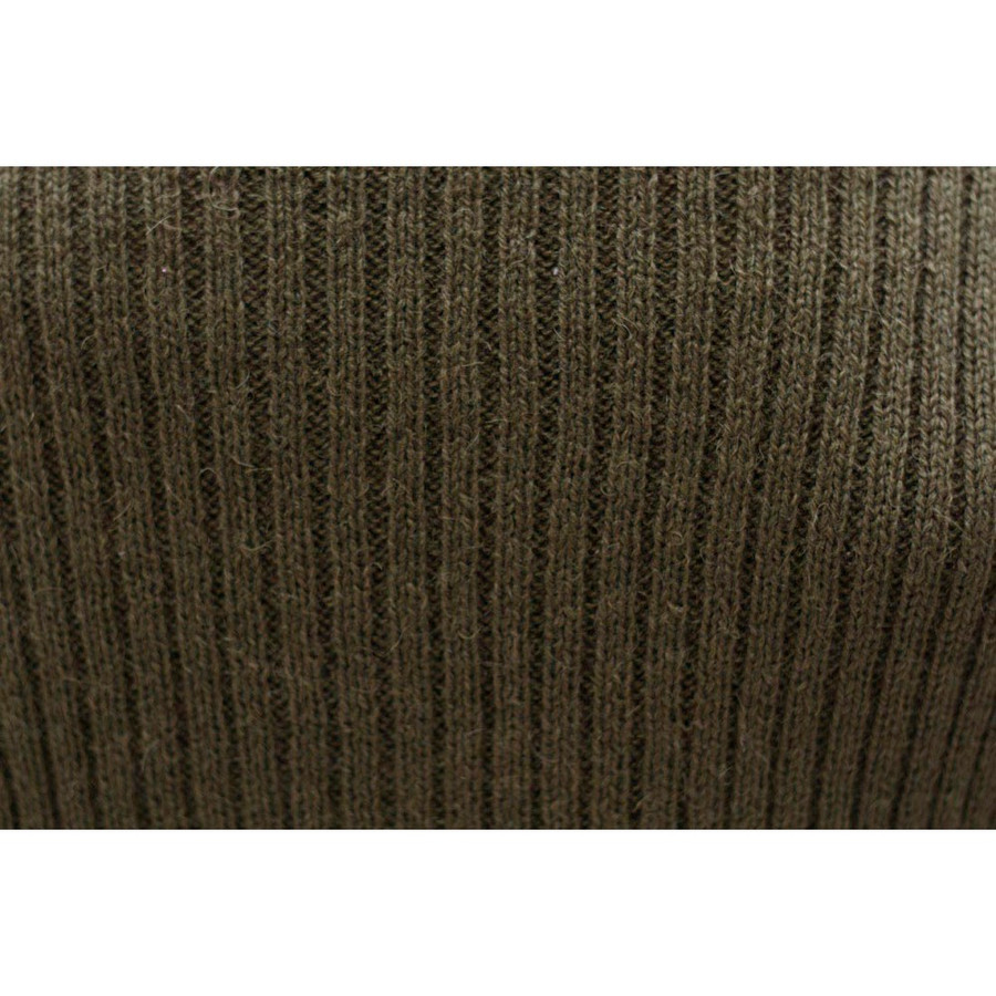 Women's Alpaca Wool Coat SZ M Leaf Green (11L-064-638M)
