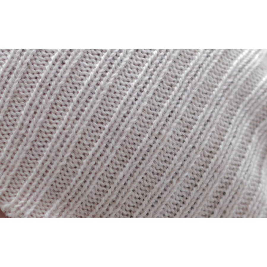 Superfine Alpaca Wool Beanie Beige One Size (65A-001-218)