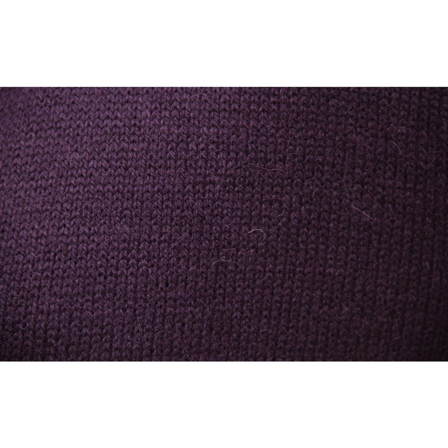 Womens Alpaca Wool Jacket Plum SZ S (14D-043-852S)
