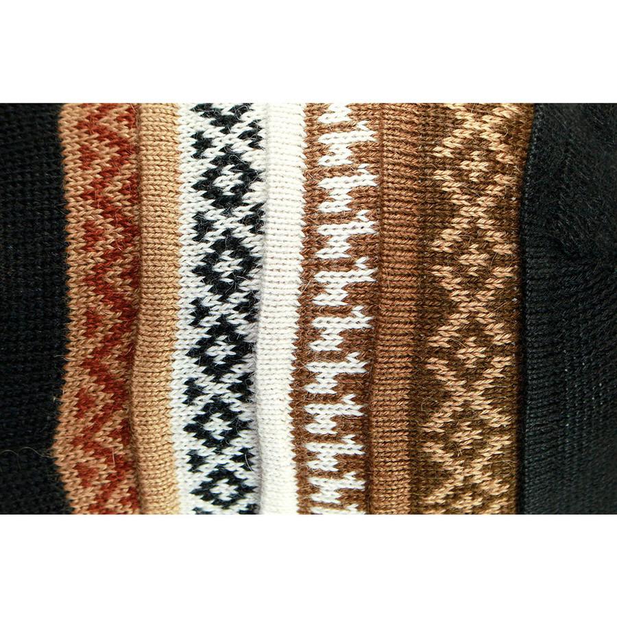 Black/Soft Camel/Ivory/Camel/Brown