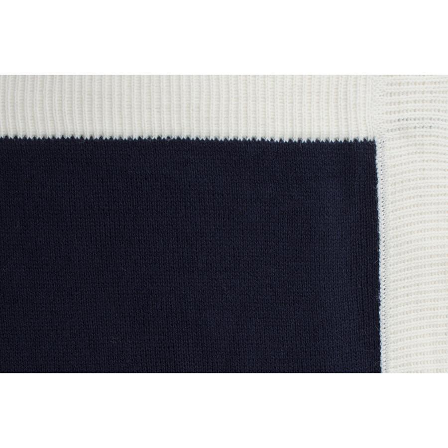 Navy Blue/Ivory