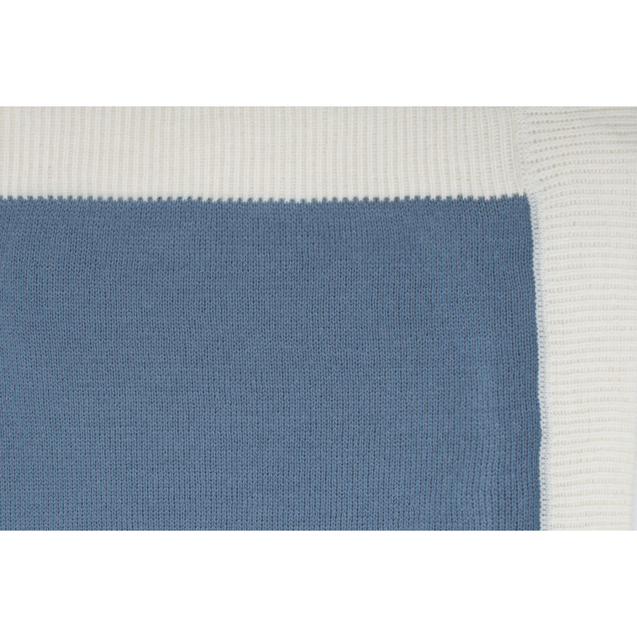 Soft Blue/Ivory