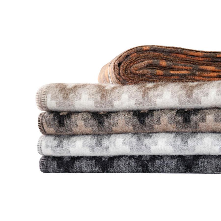 Alpaca Wool Blanket Throw Andes Ethnic Design Warm Soft Peru