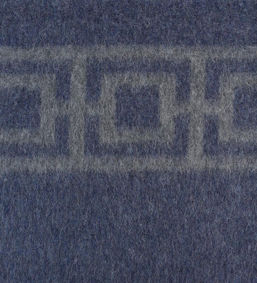 Navy Blue - Soft Gray
