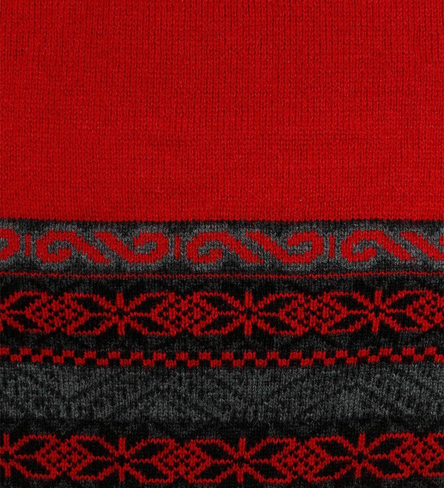 Red/Gray/Black/Ivory