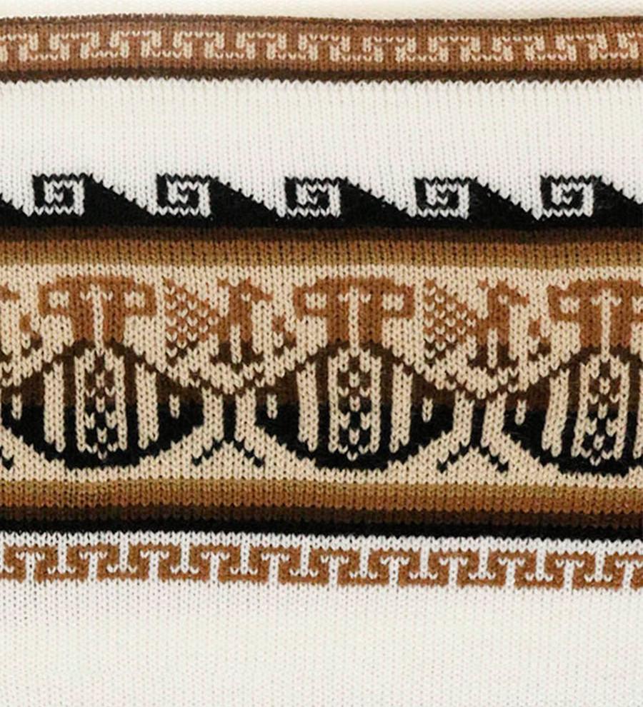Ivory/Beige/Brown