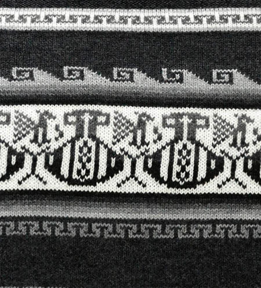 Charcoal Gray/Ivory/Black