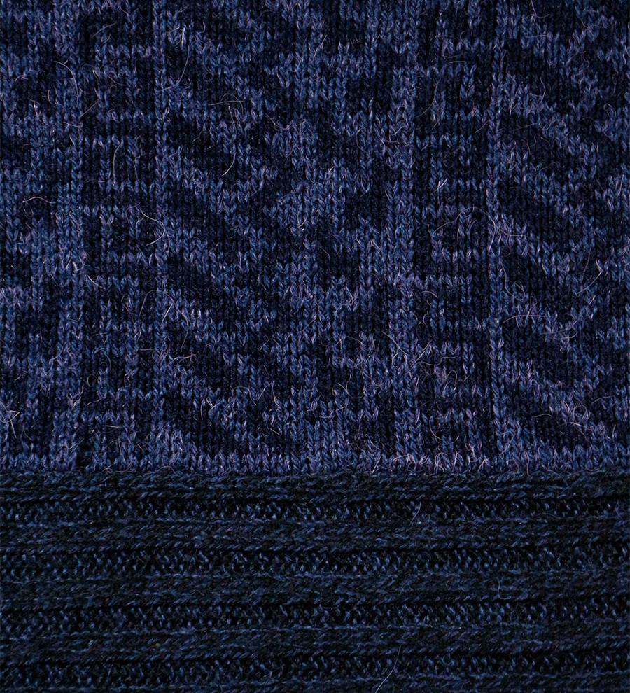 Melange Blue/Black/Blue