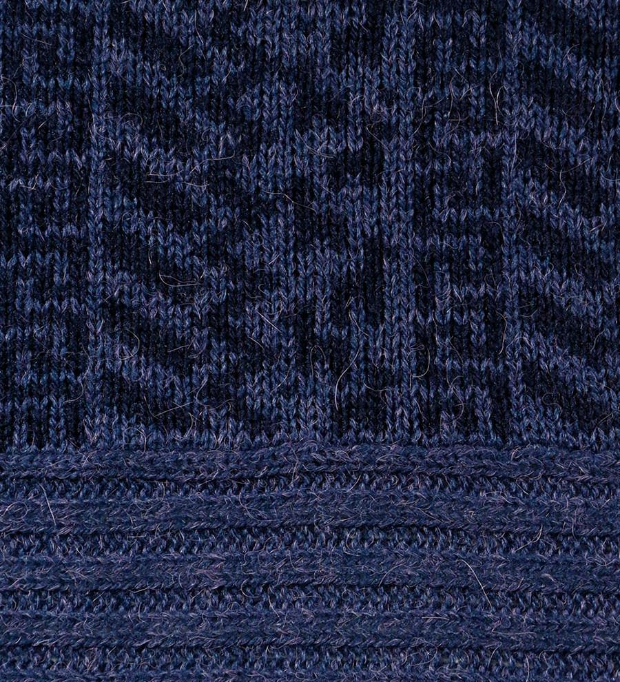 Melange Blue/Navy Blue