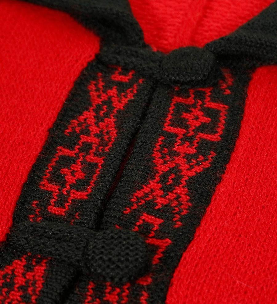 Bright Red/Black