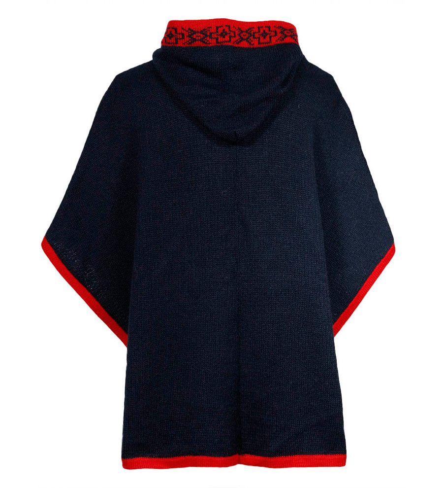 Navy Blue/Red