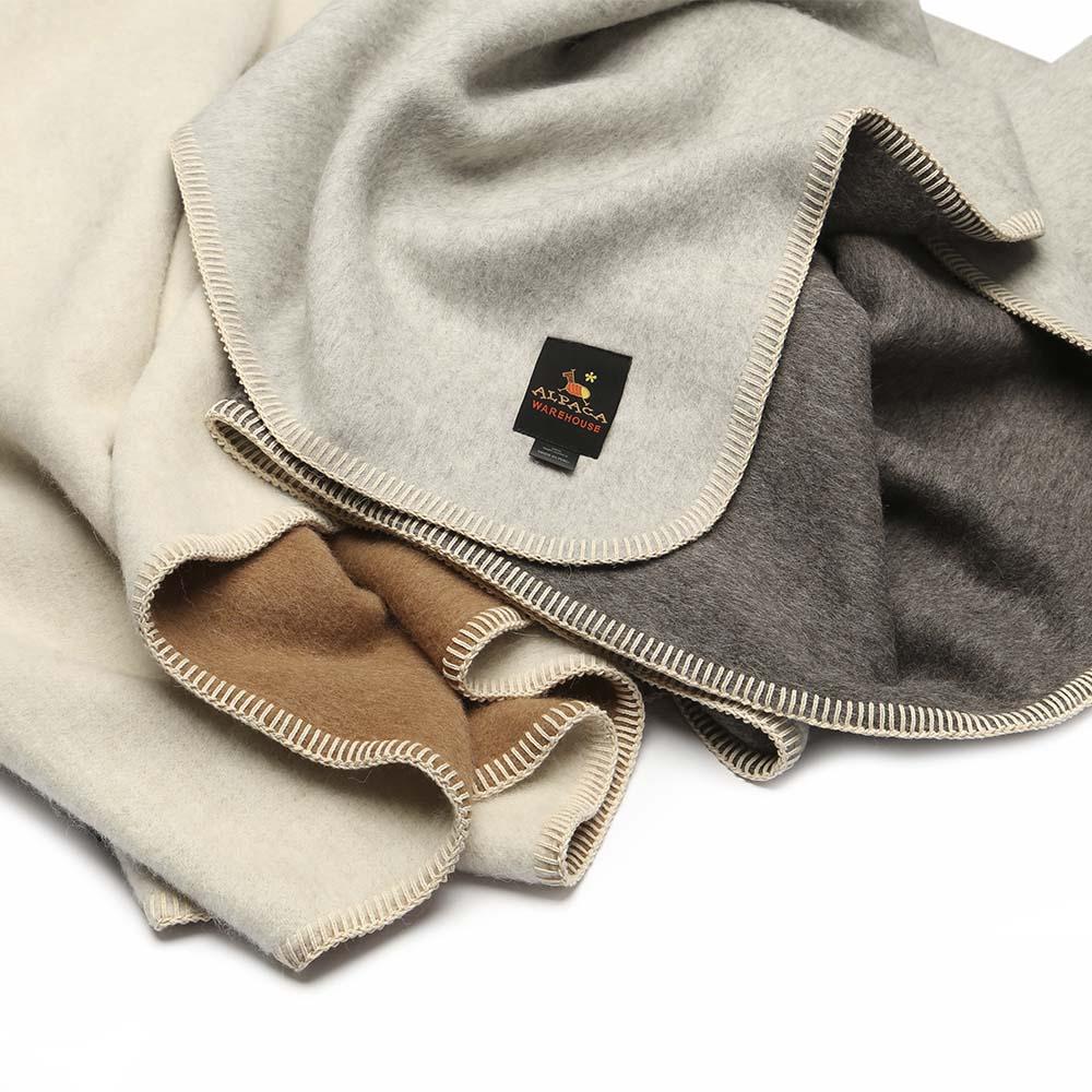 Alpaca Blankets & Throws