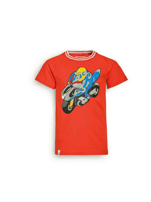BMW Camiseta Logo Naranja niños