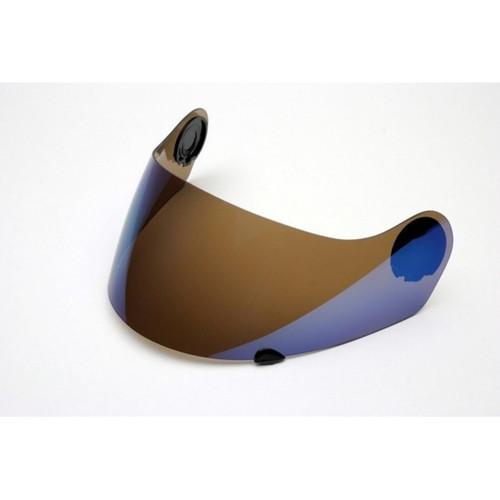 Visera NZI Vitesse azul espejo