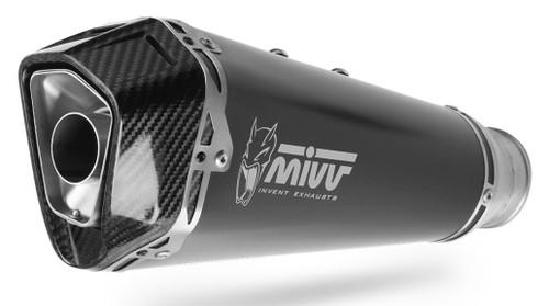 MIVV Escape Delta Race Steel Black/carbono BMW 750/850 GS