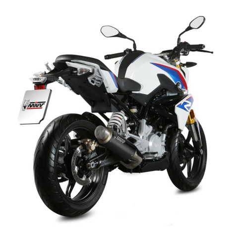 MIVV Escape GP Pro Inox Negro BMW G310R