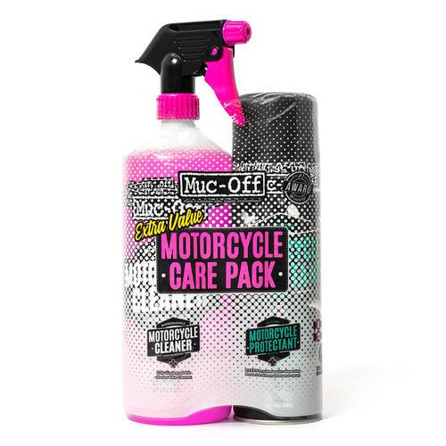 Muc-Off Set de limpieza Kit de cuidado de motocicleta duo kit