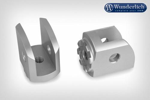 Wunderlich Articulación Vario conductor - plata (par)