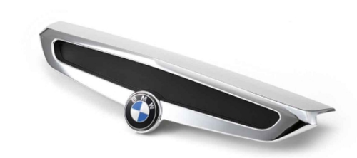 BMW Cubierta cromada maleta trasera