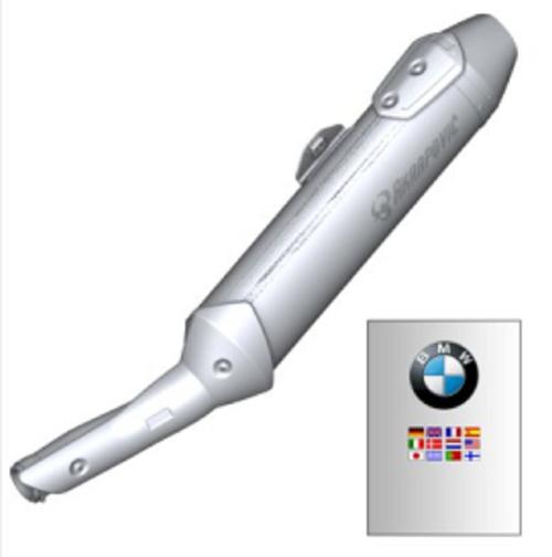 BMW G 650 X Escape Sport Akrapovic