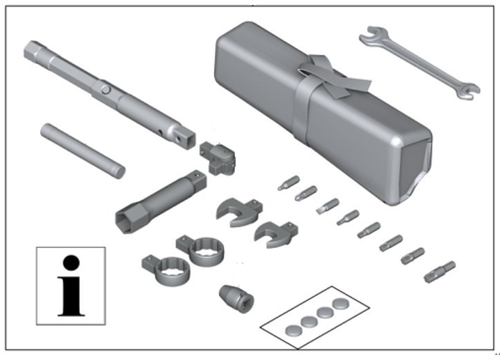 BMW Conjunto de herramientas a bordo