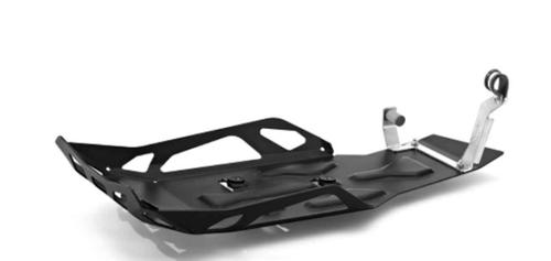 BMW Protector de aluminio negro Enduro