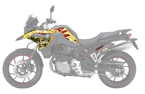 BMW F 750/850 GS Kit de pegatinas Design Fresh