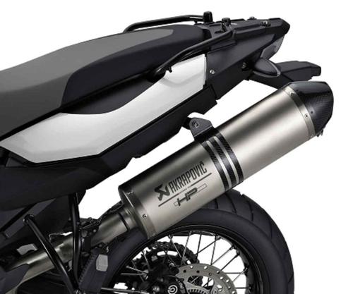 BMW HP Akrapovic titanium silenciador deportivo