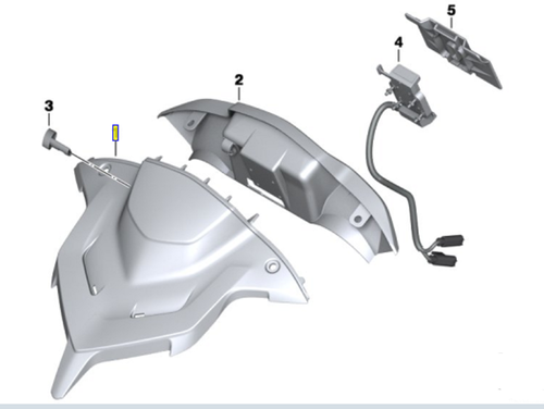 BMW Preparación de la cubierta del dispositivo de navegación