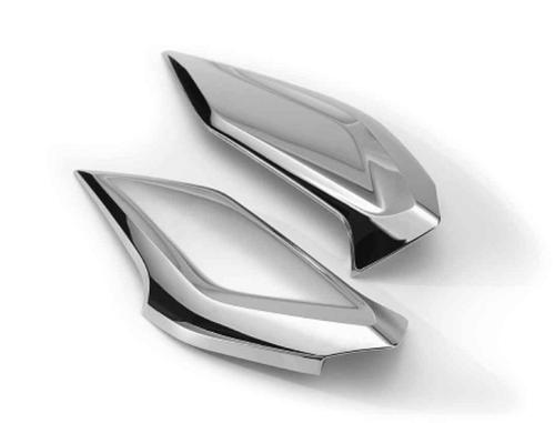 BMW Deflectores de viento cromado