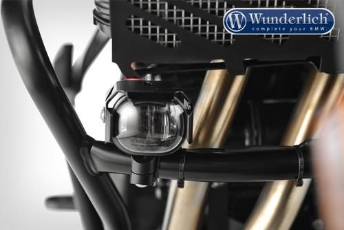 Wunderlich Faro adicional Microflooter - montaje en barra de protección - Negro