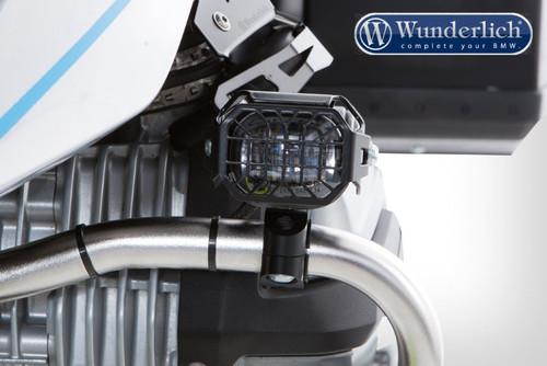 Wunderlich Rejilla de protección faro adicional Microflooter - Negro