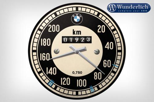 Wunderlich Reloj de pared BMW velocímetro