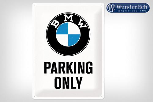 Wunderlich Letrero de chapa «BMW Parking Only«