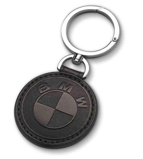 BMW Llavero de cuero - negro