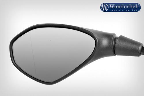 Wunderlich Aplique visión convexa para espejo »SAFER-VIEW« cromado - Izquierda