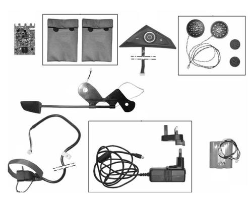 BMW Sistema de comunicación KomV3 - casco GS