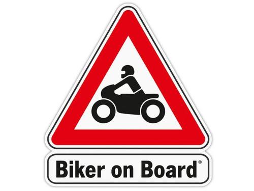 Wunderlich Adhesivo 'Biker on Board'