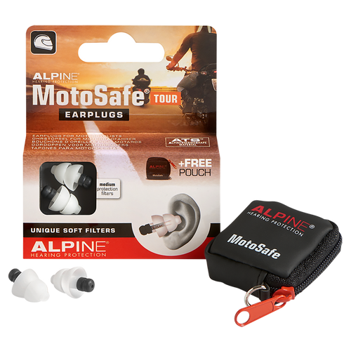 Alpine Moto Safe Tour - Protección para los oídos